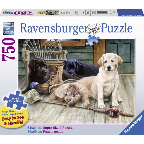 Ravensburger Ruff Day Puzzle 750pc Large Format-RB19939-6-Animal Kingdoms Toy Store