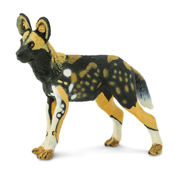 Safari Ltd African Wild Dog-SAF239729-Animal Kingdoms Toy Store