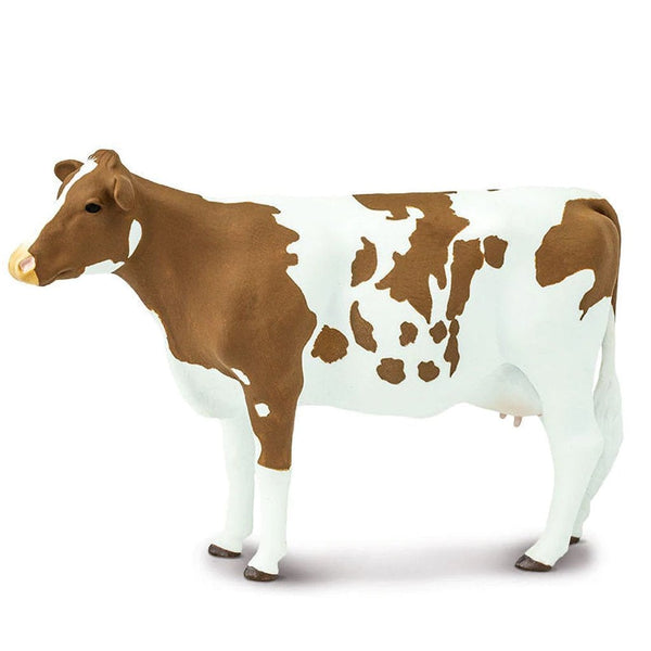Safari Ltd Ayrshire Cow-SAF150729-Animal Kingdoms Toy Store