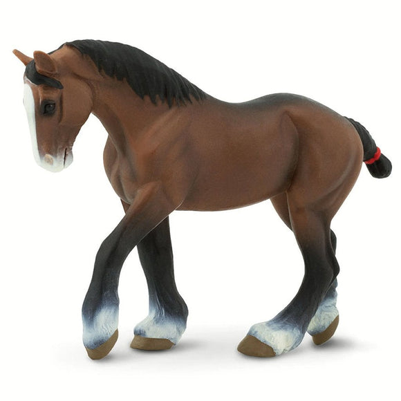 Safari ltd Clydesdale Mare-SAF151205-Animal Kingdoms Toy Store