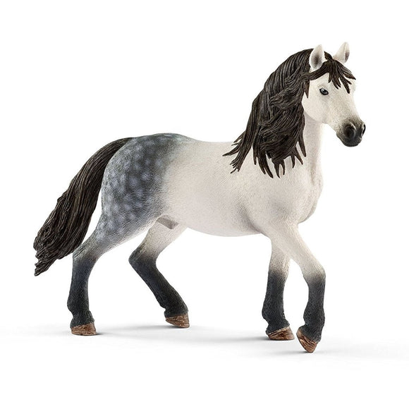 Schleich Andalusian Stallion-13821-Animal Kingdoms Toy Store