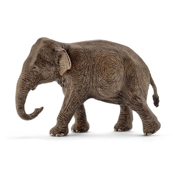 Schleich Asian Elephant Cow-14753-Animal Kingdoms Toy Store