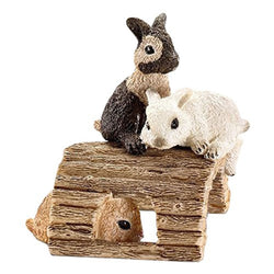 Schleich Baby Rabbits playing - Farm Life - AnimalKingdoms.co.nz