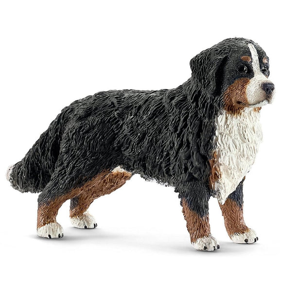 Schleich Bernese Mountain Dog Female-16397-Animal Kingdoms Toy Store