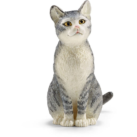 Schleich Cat Sitting-13771-Animal Kingdoms Toy Store