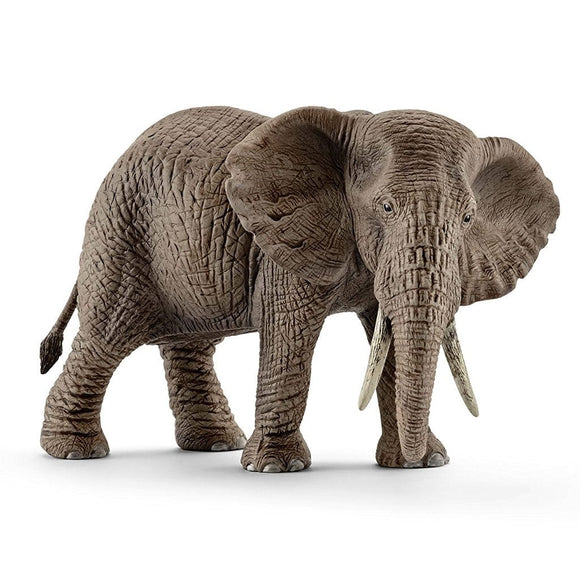 Schleich Elephant African Female-14761-Animal Kingdoms Toy Store