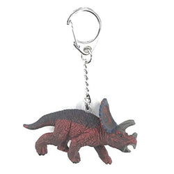 Schleich Exclusive Mini Triceratops Key Chain - Prehistoric - AnimalKingdoms.co.nz