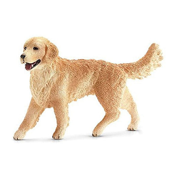Schleich Golden Retriever Female-16395-Animal Kingdoms Toy Store