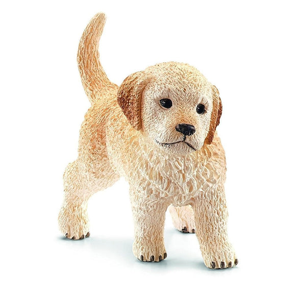 Schleich Golden Retriever Puppy-16396-Animal Kingdoms Toy Store