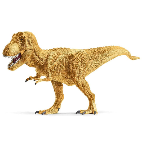 Schleich Golden Tyrannosaurus Rex Exclusive-72122-Animal Kingdoms Toy Store