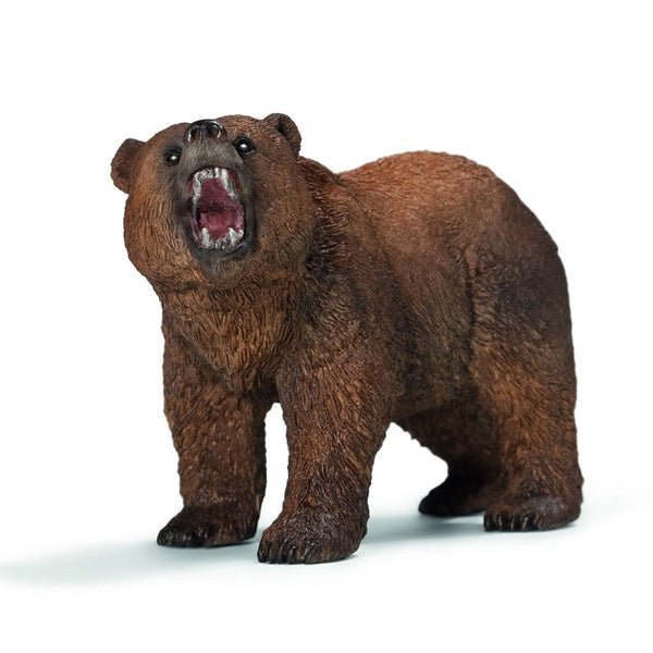 Schleich Grizzly Bear-14685-Animal Kingdoms Toy Store
