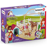 Schleich Hannah's Guest Horses with Ruby the Dog - AnimalKingdoms.co.nz