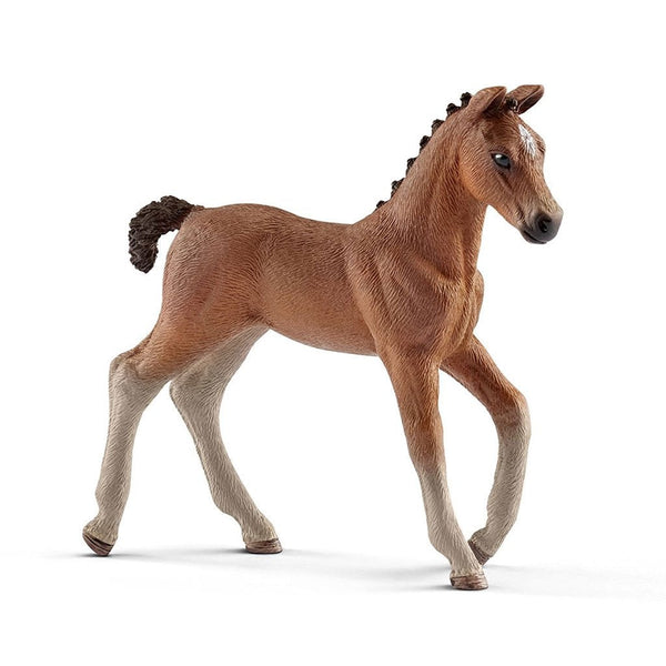 Schleich Hanoverian Foal-13818-Animal Kingdoms Toy Store