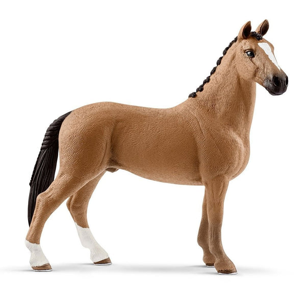 Schleich Hanoverian Gelding-13837-Animal Kingdoms Toy Store