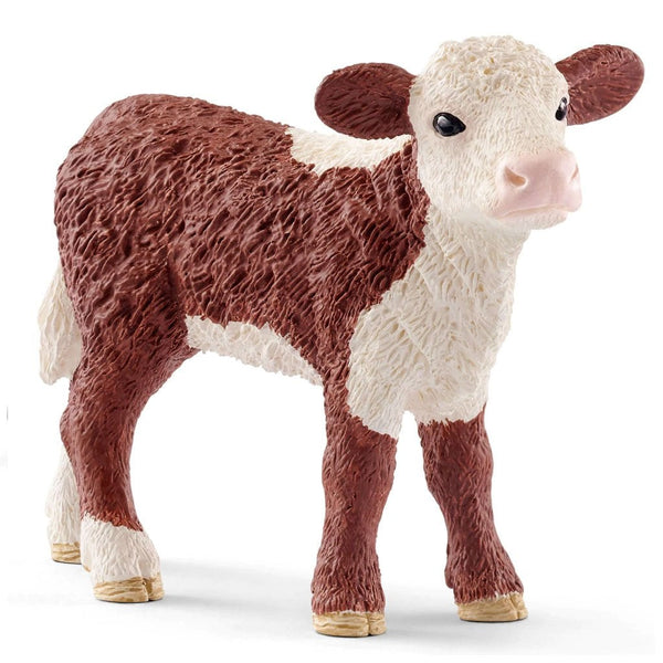 Schleich Hereford Calf-13868-Animal Kingdoms Toy Store