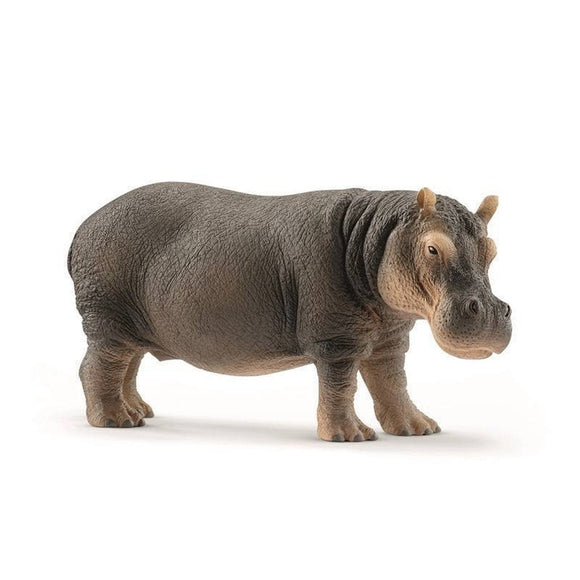 Schleich Hippopotamus - Wild Life - AnimalKingdoms.co.nz