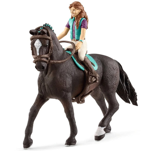 Schleich Horse Club Lisa & Storm-42516-Animal Kingdoms Toy Store