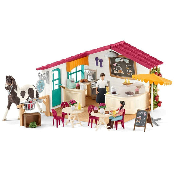 Schleich Horse Club Rider Cafe-42519-Animal Kingdoms Toy Store