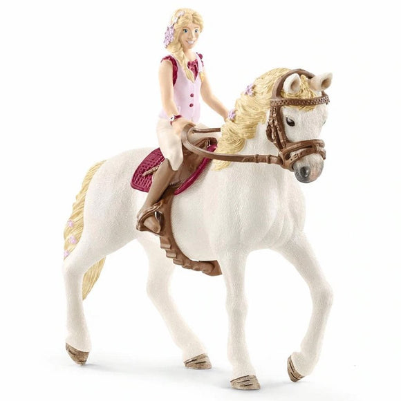 Schleich Horse Club Sofia & Blossom-42515-Animal Kingdoms Toy Store