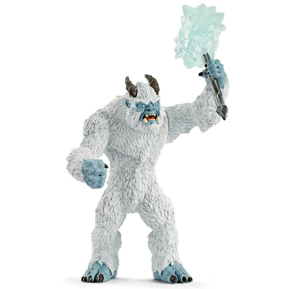 Schleich Ice monster with weapon-42448-Animal Kingdoms Toy Store