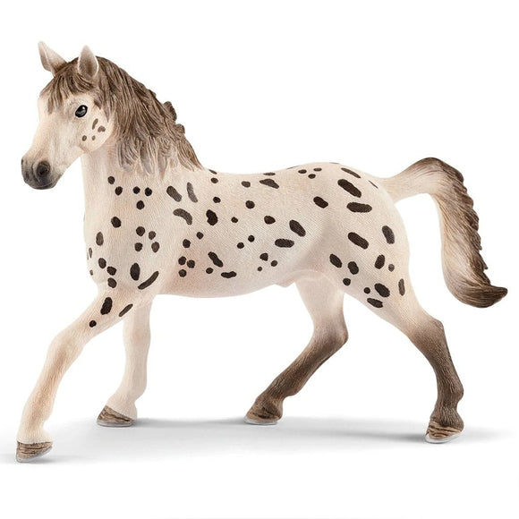 Schleich Knabstrupper Stallion-13889-Animal Kingdoms Toy Store