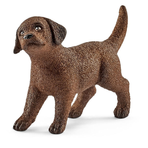 Schleich Labrador Retriever Puppy-13835-Animal Kingdoms Toy Store