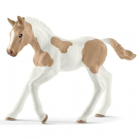 Schleich Paint Horse Foal-13886-Animal Kingdoms Toy Store