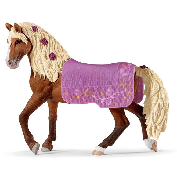 Schleich Paso Fino stallion horse show - AnimalKingdoms.co.nz
