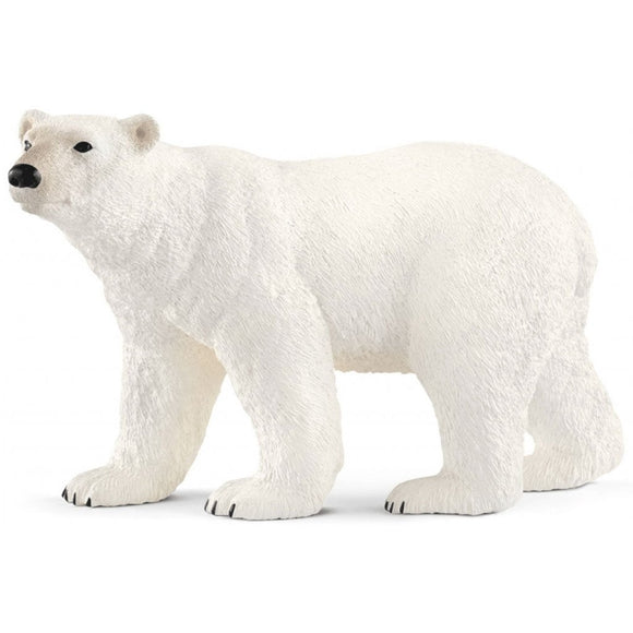Schleich Polar Bear - Wild Life - AnimalKingdoms.co.nz