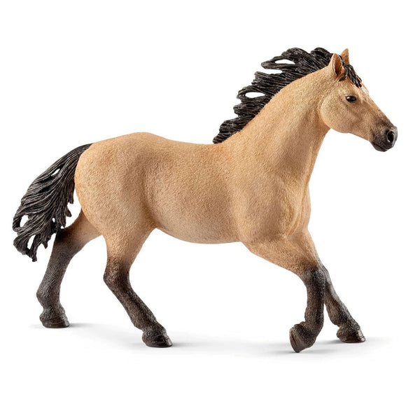 Schleich Quarter Horse Stallion-13853-Animal Kingdoms Toy Store