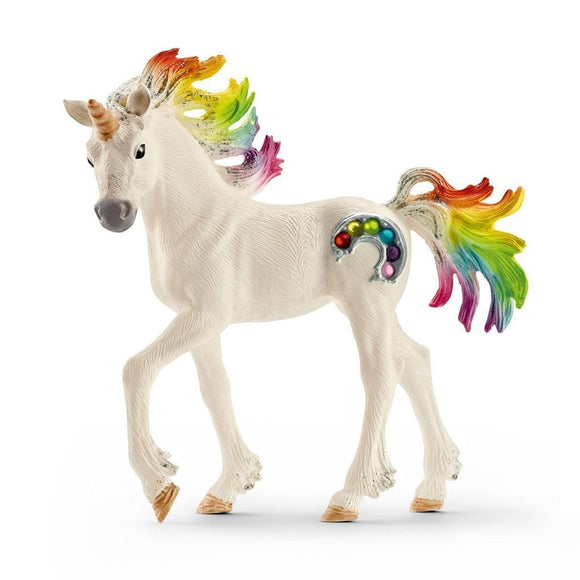 Schleich Rainbow Unicorn Foal-70525-Animal Kingdoms Toy Store