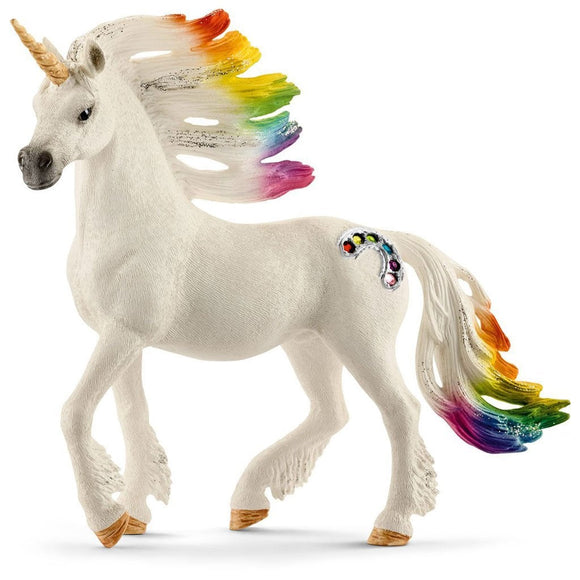 Schleich Rainbow Unicorn Stallion-70523-Animal Kingdoms Toy Store