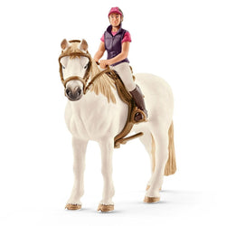 Schleich Recreational Rider with Horse - Horses - AnimalKingdoms.co.nz