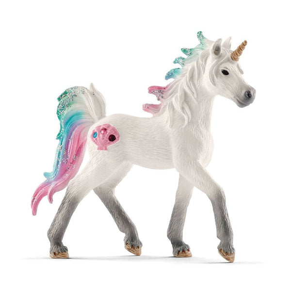 Schleich Sea Unicorn Foal-70572-Animal Kingdoms Toy Store