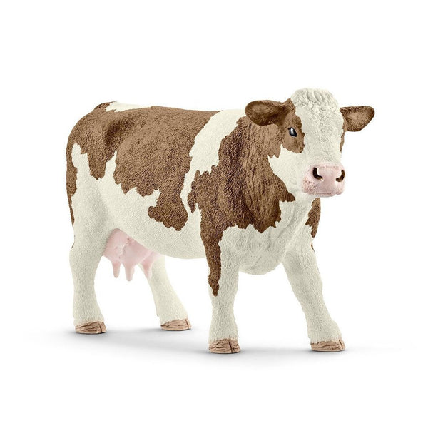 Schleich Simmental Cow - AnimalKingdoms.co.nz