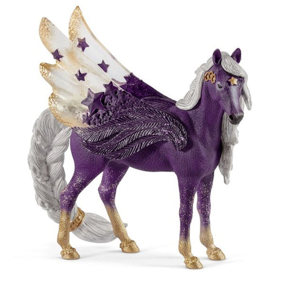 Schleich Star Pegasus Mare-70579-Animal Kingdoms Toy Store