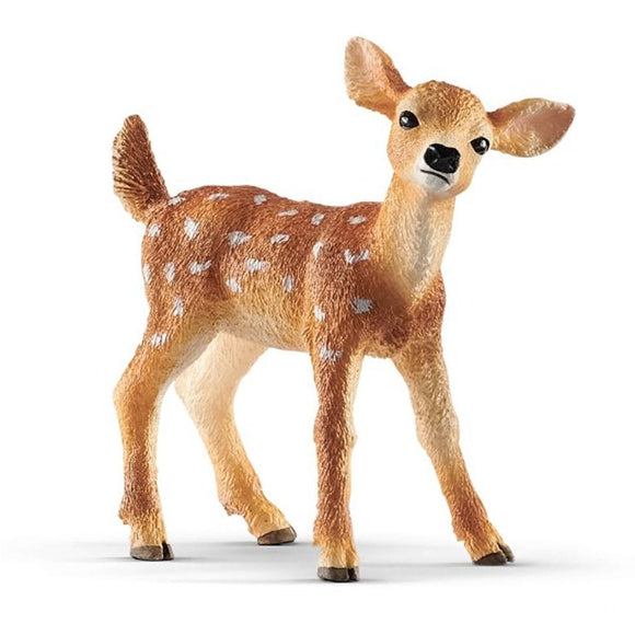 Schleich White-Tailed Fawn 2019 - Wild Life - AnimalKingdoms.co.nz
