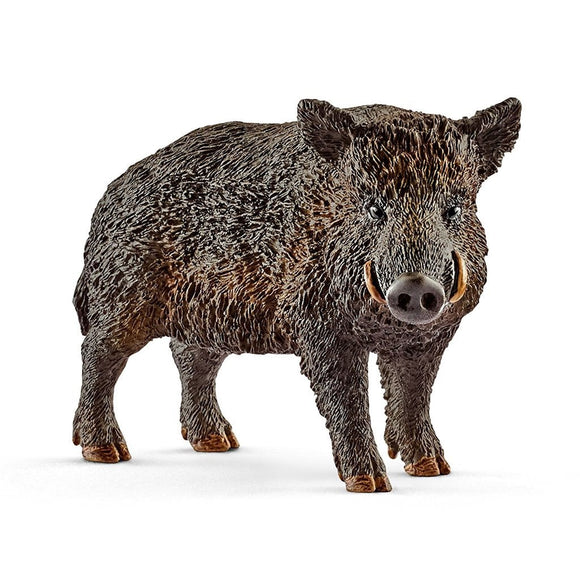 Schleich Wild Boar - Wild Life - AnimalKingdoms.co.nz