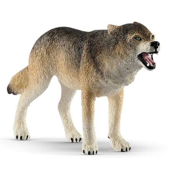 Schleich Wolf 2019 - AnimalKingdoms.co.nz