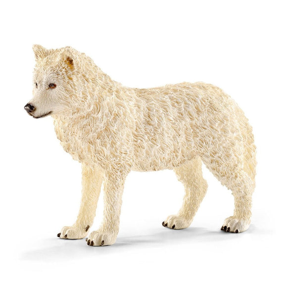 Schleich Wolf Arctic - Wild Life - AnimalKingdoms.co.nz