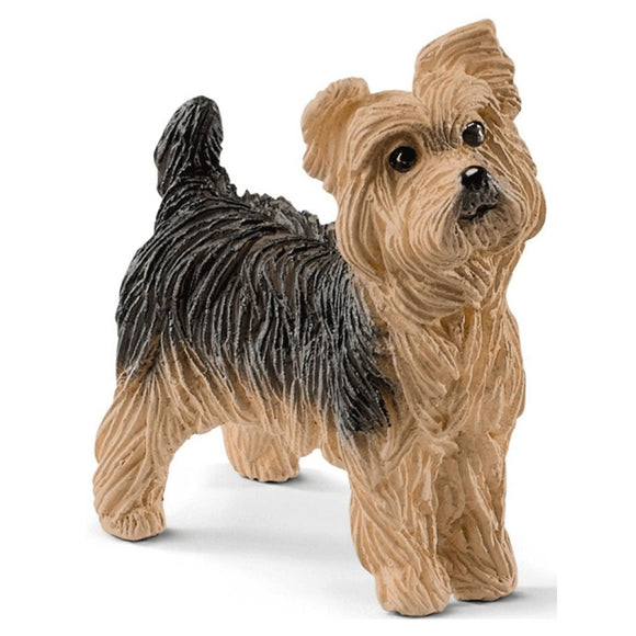 Schleich Yorkshire Terrier-13876-Animal Kingdoms Toy Store