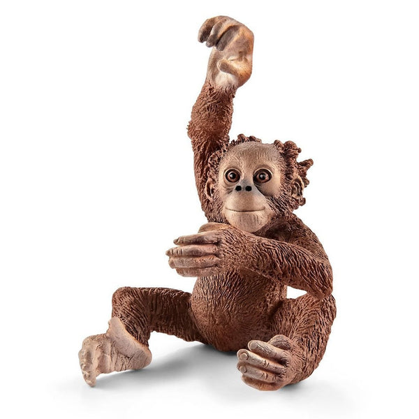 Schleich Young Orangutan-14776-Animal Kingdoms Toy Store