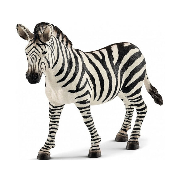 Schleich Zebra Mare - Wild Life - AnimalKingdoms.co.nz