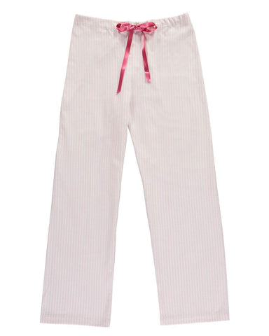 Brushed Pastel Pyjama Trousers (bltf) - Blue Stripe