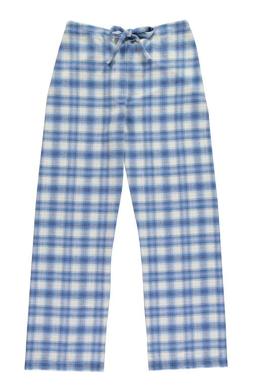 Brushed Tartan Pyjama Trousers (tltf) - Cara | Bonsoir of London