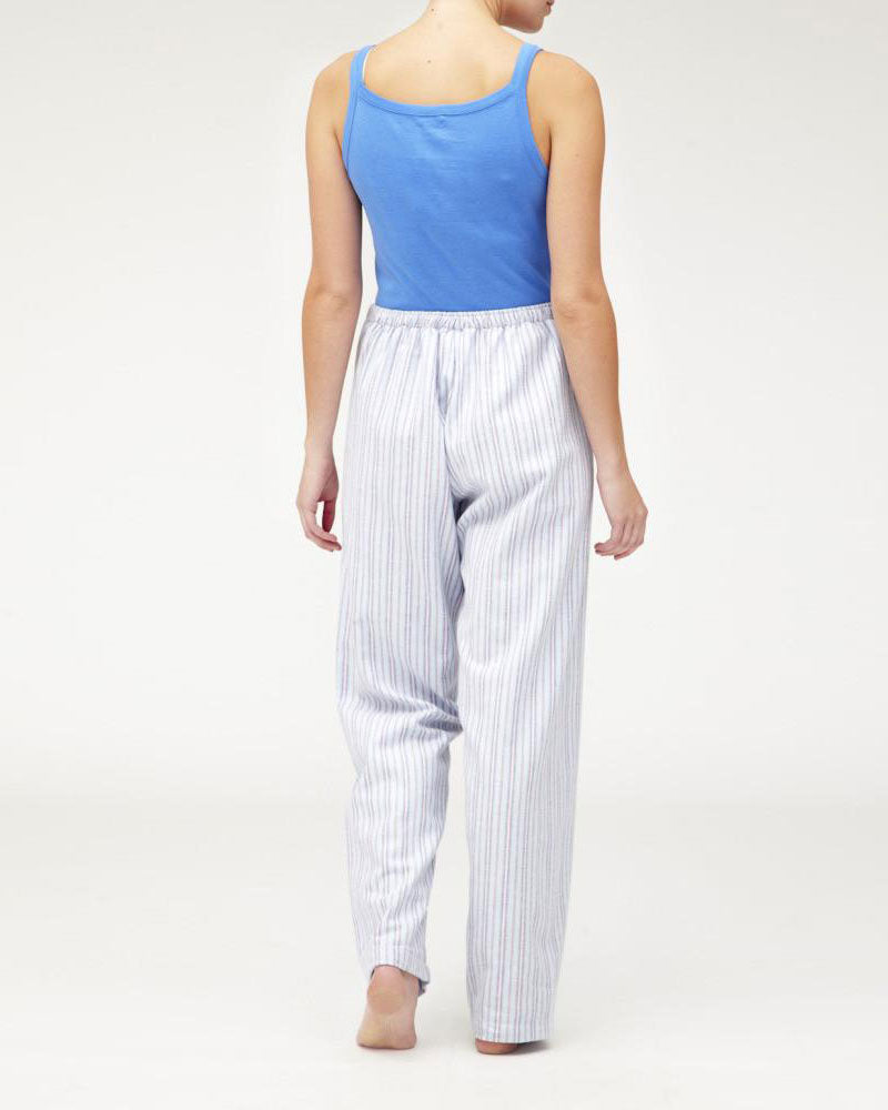 Brushed Pastel Pyjama Trousers (bltf) - Ms04 | Bonsoir of London