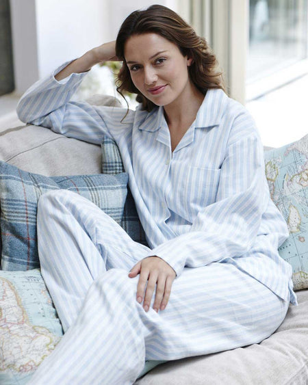 Women's Brushed Cotton Pyjamas - BL01
