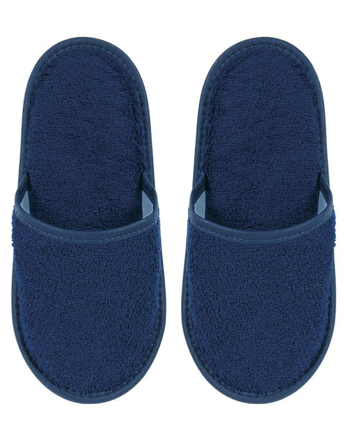 TOWELLING SLIPPERS - MIDNIGHT