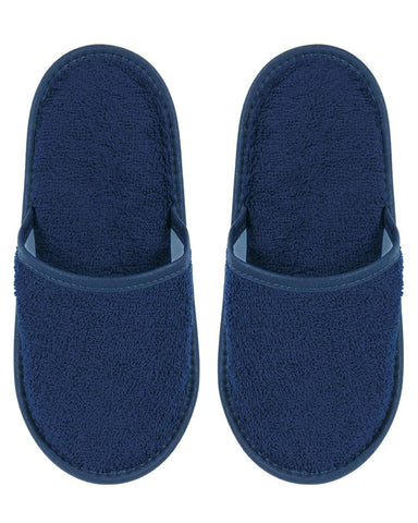 Towelling Slippers (lsts) - White