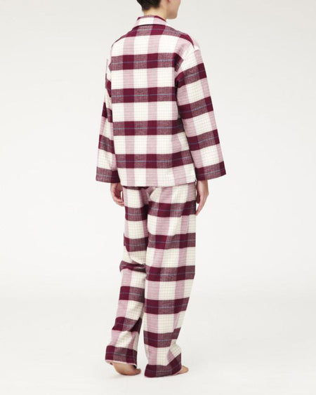 Women's Brushed Cotton Pyjamas - Braeside